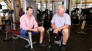 wounded warrior luke murphy talks about physical therapy at the