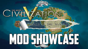 Map Of Avatar Last Airbender World by Civilization 5 Avatar The Last Airbender Mod Showcase Youtube
