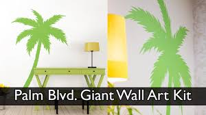 palm tree wall decal youtube palm tree wall decal