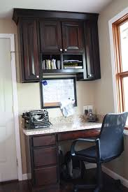 kitchen cabinet desk ideas cabinet kitchen desk organizer affordable custom cabinets