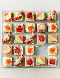 indian canapes ideas luxury canapé selection serves 24 m s