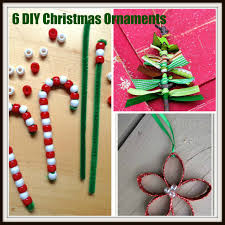 6 christmas ornament crafts to make with your kids u2013 saving mamasita