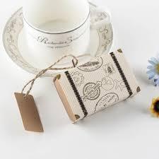 bonbonni re mariage 500 pcs mini valise kraft boîte de bonbons bonbonnière cadeau