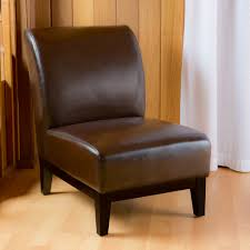 leather armless chair modern chair design ideas 2017