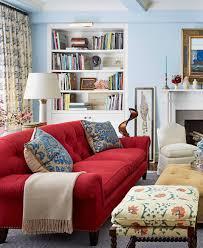 Red Livingroom Wonderful Ideas For Enliven Winter Living Room Living Room