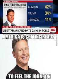 Gary Johnson Memes - this election is turning into a three way by kickassia meme center