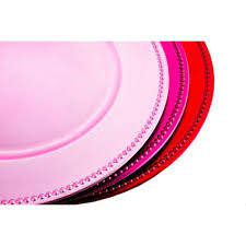 bulk wedding supplies light pink charger plates bulk 24 plates 402074 wholesale