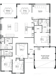 house plans open concept with loft arts modern floor plan homes