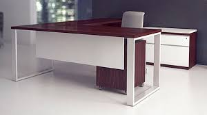 Modern L Desk Modern At Two L Shaped Desk Biedermeier Cherry Zuri Furniture