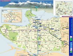 Map Of Bc Maps Of Vancouver Johomaps