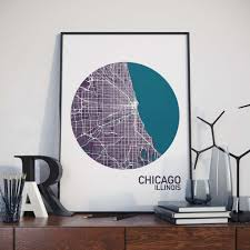 Map Room Chicago Il by United States Colour City Maps U2013 The Neighborhood Unit Intl