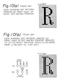 patent ep0331033a2 printing system for dot matrix printer
