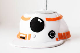 how to make a bb 8 hat and shirt for a costume youtube