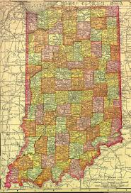 State Of Indiana Map by Indiana