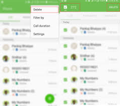 android log how to delete call log on android single all