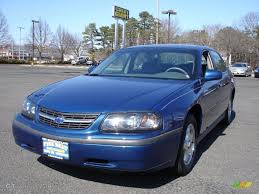 2003 Chevy Impala Interior 2003 Superior Blue Metallic Chevrolet Impala 26881358 Gtcarlot