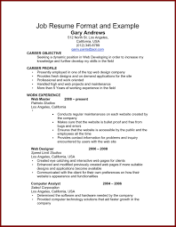 Resume Order Of Work Experience One Job Resume Examples Resume Example And Free Resume Maker