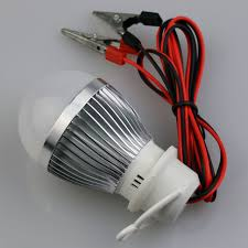 aliexpress buy dc 12v 3w crocodile clip hook led bulb