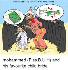 Aisha Meme - mohammed and aisha the first date mohammed pissbuh and his