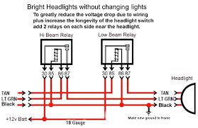 headlight wire diagram carlplant