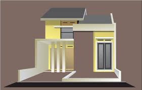 desain rumah corel rumah minimalis kecil modern oyin ayashi