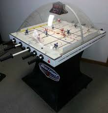 Dome Hockey Table Super Chexx Bubble Hockey Arcade Game For Sale Used