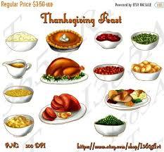 Thanksgiving Feast Clip 50 Thanksgiving Feast Clipart Thanksgiving Clip