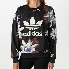 adidas sweater 57 adidas sweaters adidas originals lotus crewneck sweater