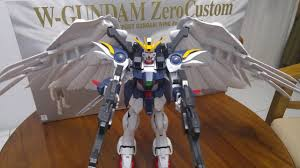review and size comparison for pg bandai gundam wing zero