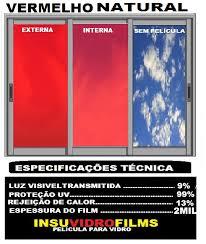Super INSUVIDROFILMS- PELÍCULA DE CONTROLE SOLAR -PELÍCULA PARA JANELAS  &AL45