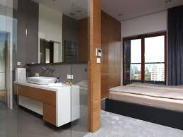 bathroom paneling ideas outstanding modern large bathroom with floating vanities added