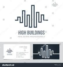 real estate business sign business card stock vector 231192274