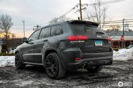 gray jeep grand cherokee with black rims jeep grand cherokee srt 8 2013 17 february 2017 autogespot