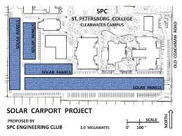 Carport Plan Florida Engineering Society St Petersburg College Solar