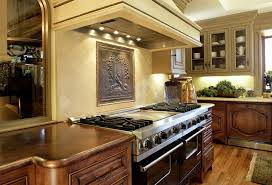 hammered copper backsplash tiles home design ideas