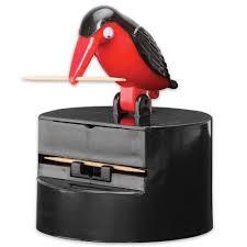 Bird Toothpick Dispenser | amazon com bird toothpick dispenser gag gift handy clean teeth
