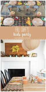 fall kids craft party