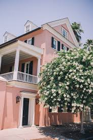 love the pink in charleston south carolina travel pinterest