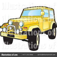 yellow jeep jeep clipart 228028 illustration by lal perera