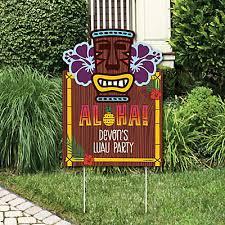 luau party tiki luau party decorations tropical hawaiian summer party