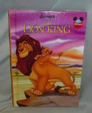 disney lion king mini storybook hardcover children classic