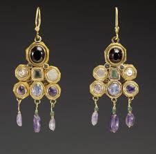 photo of earrings pair of earrings the walters museum works of