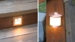 Recessed Deck Lighting Install Deck Lighting U0026 Accessories Extreme How To