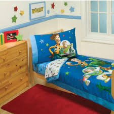 Buzz Lightyear Duvet Cover Toy Story Crib Bedding Disney Toy Story 4 Piece Toddler Bedding