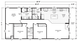 Parkview Floor Plan Parkview 28 X 60 1600 Sqft Mobile Home Factory Select Homes