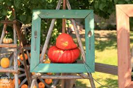 Outdoor Fall Decor Quirky Outdoor Fall Decorating With Pumpkins And Squash Garden