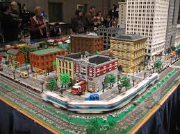 lego ford set lego city and train layout at the henry ford museum a photo on