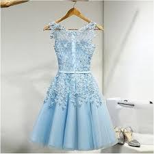 light blue mini dress sale glorious light blue short homecoming party dress with zipper