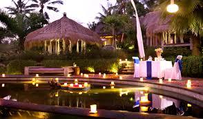 candle light dinner blue karma resort