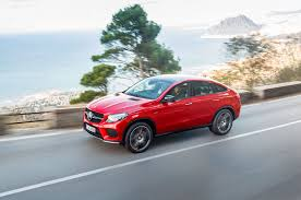 mercedes benz gle coupe throws down the fastback suv gauntlet